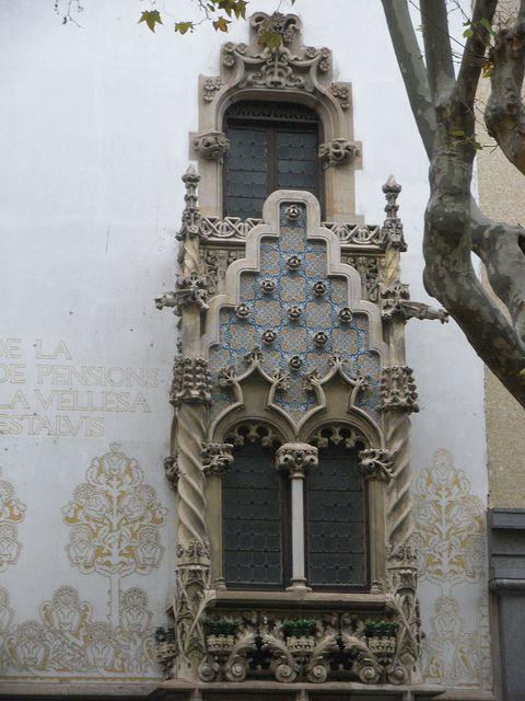 Palau Macaya 1898-1901  de Josep Puiig i Cadafalch