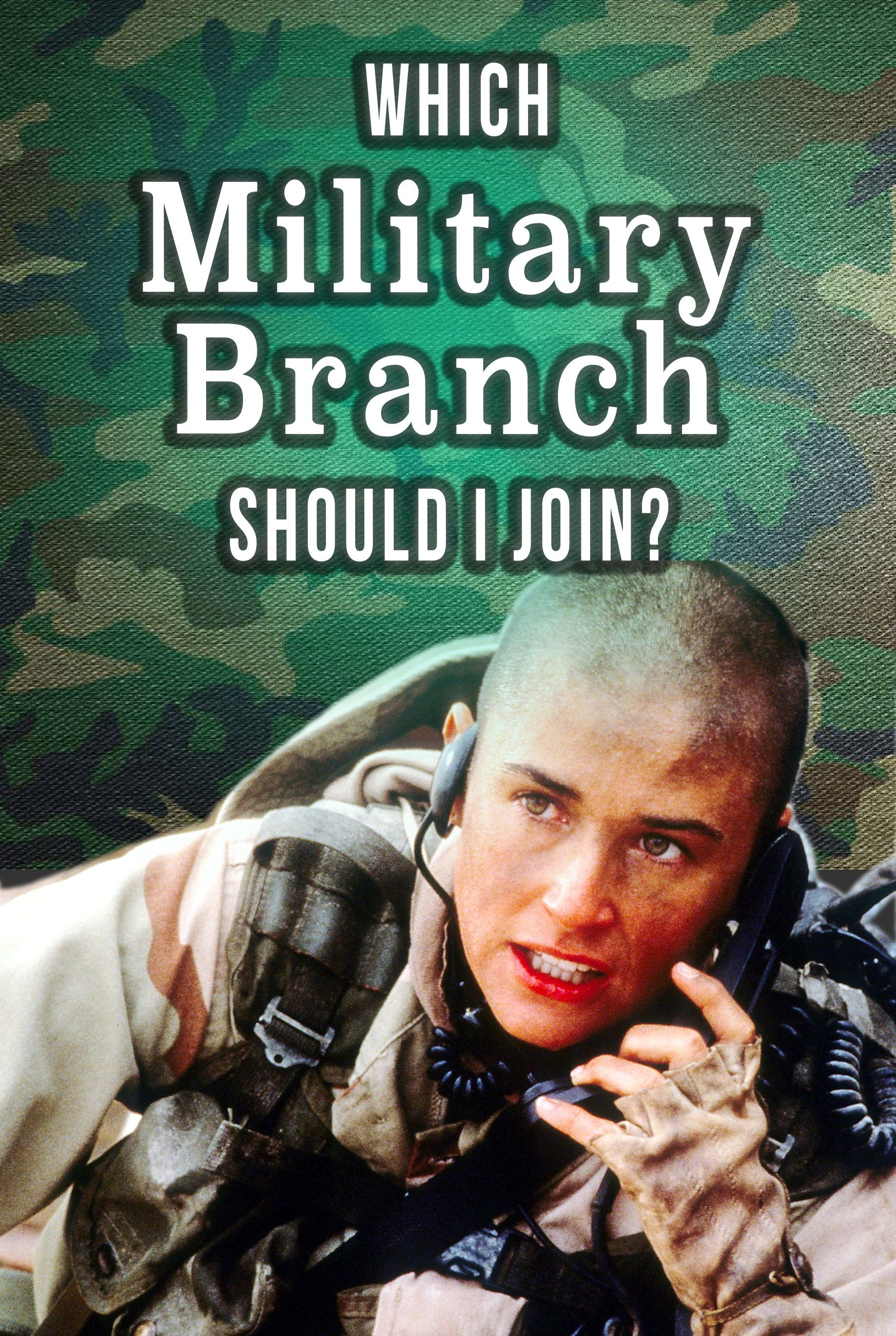 Quiz Which Military Branch Should I Join? Military