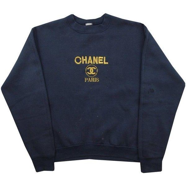 007704e04e276 Vintage Bootleg Chanel Sweatshirt Size Small Grubby Mits ($67 ...