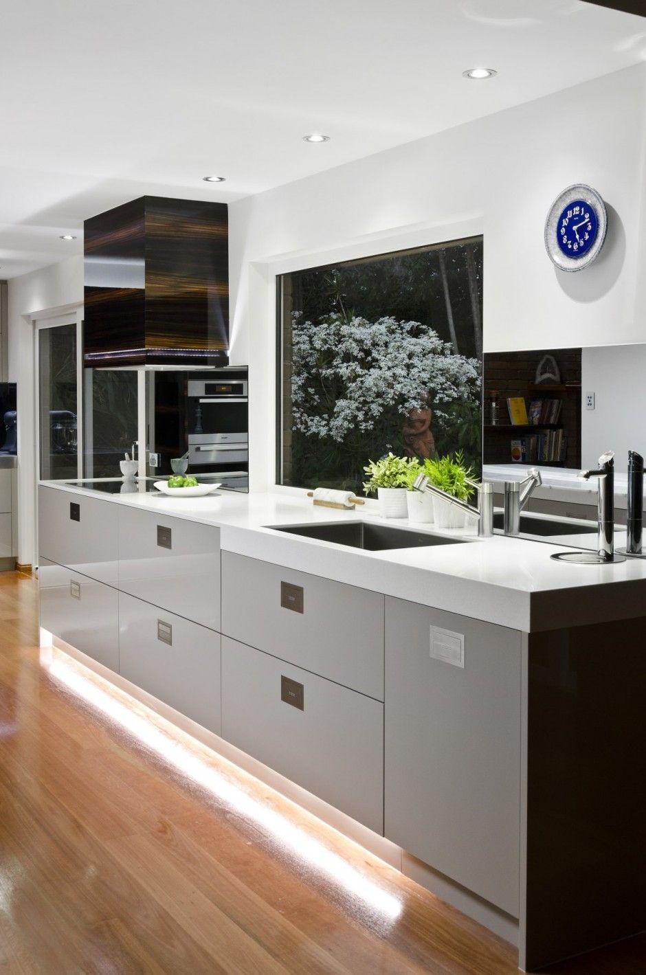 Modern kitchen window design  contemporist  home spaces and decor  pinterest  kitchens window