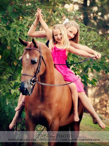 One Day Hopefully Those Will Be My Girls And Horse  Horse -1096