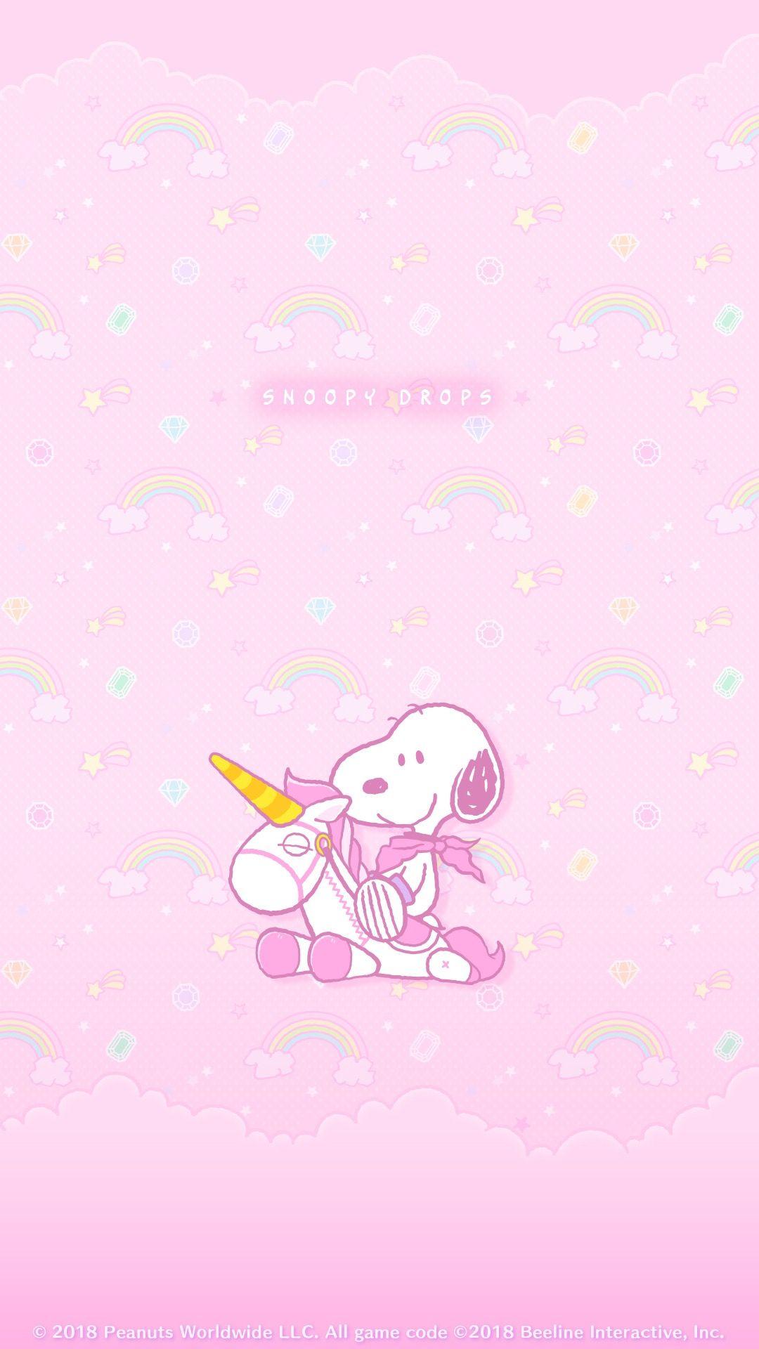 Snoopy Body rosa