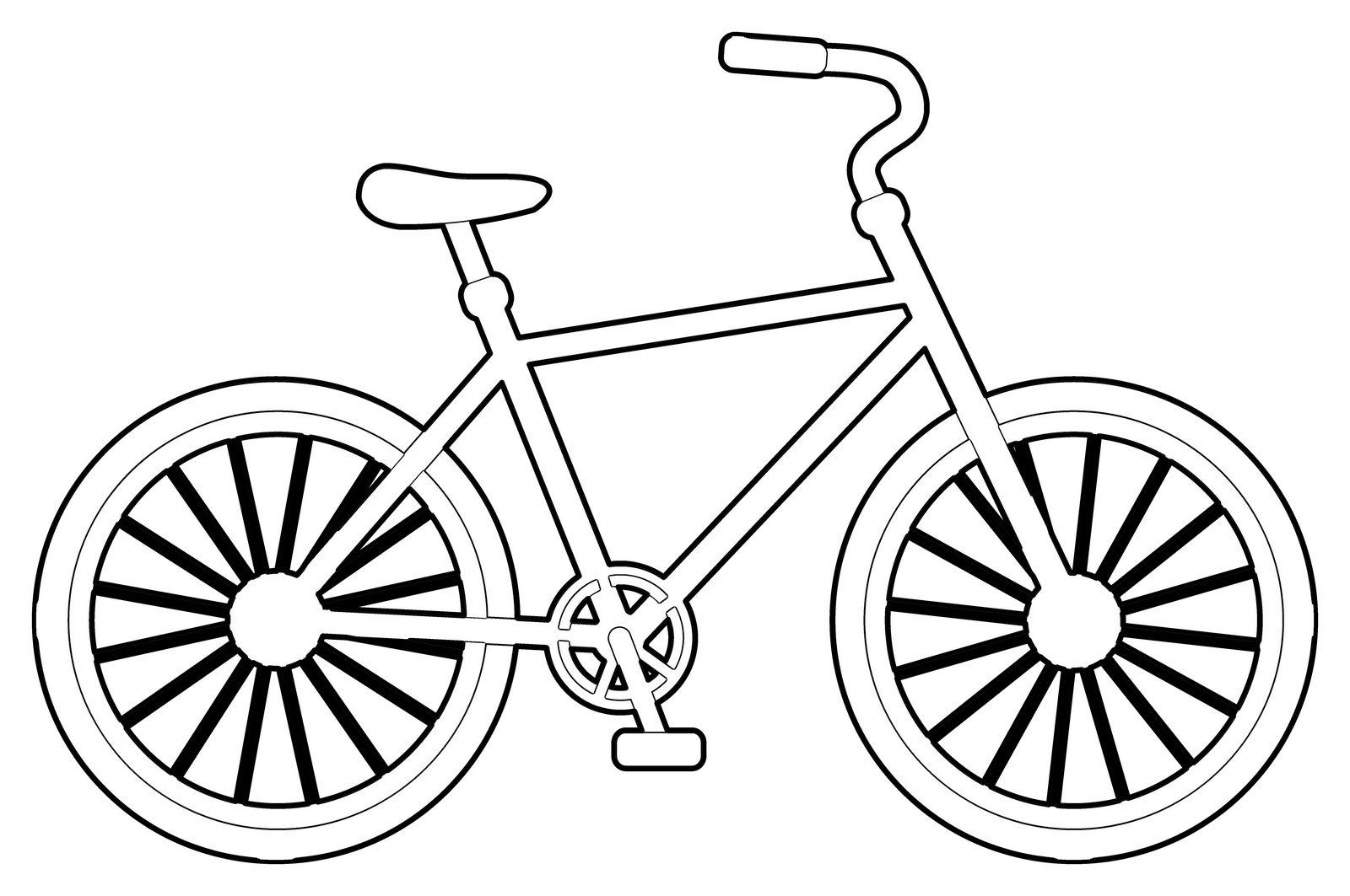 Bike Coloring Pages To Encourage Kids Learn To Ride Color