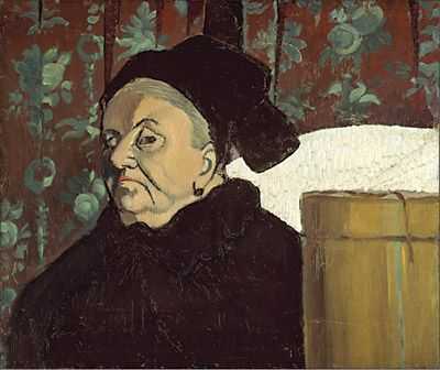 Retrato de la abuela, de Émile Bernard