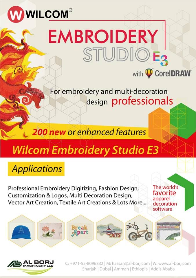 Wilcom Embroidery Studio E3 World S No 1 Embroidery Software Purchase On Best Price For More Detai Wilcom Embroidery Embroidery Software Digital Embroidery