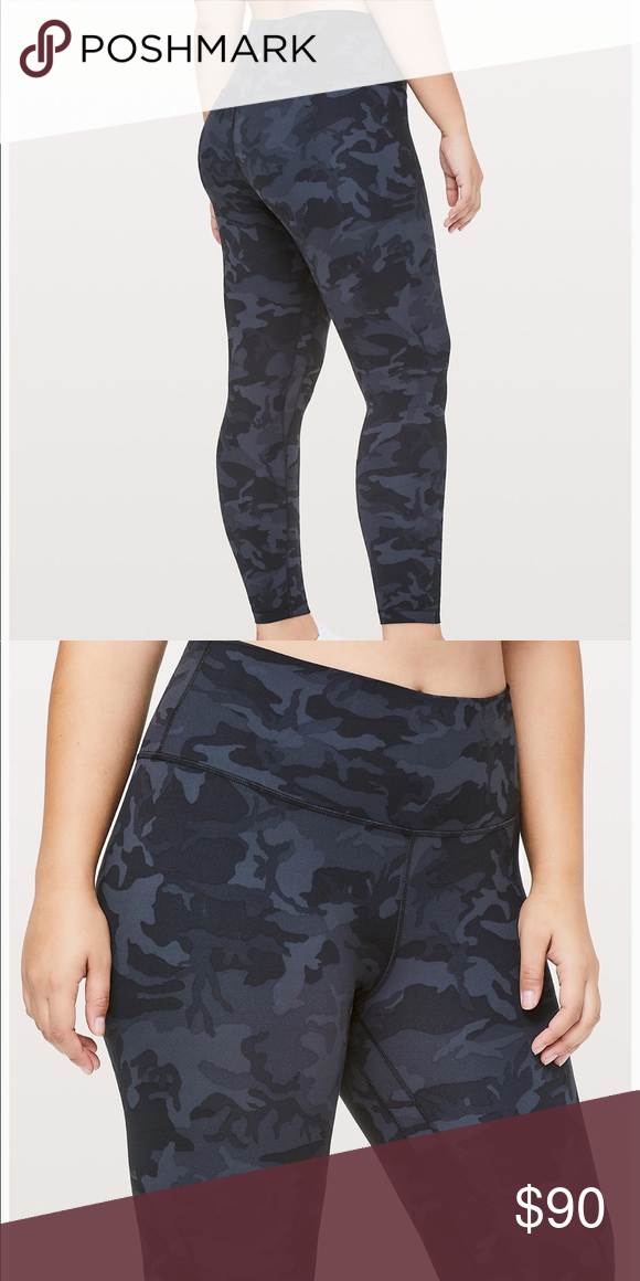 355a3912164d4 Nwt lululemon align 7/8 incognito camo size 8 High waist. True to size. lululemon  athletica Pants Leggings