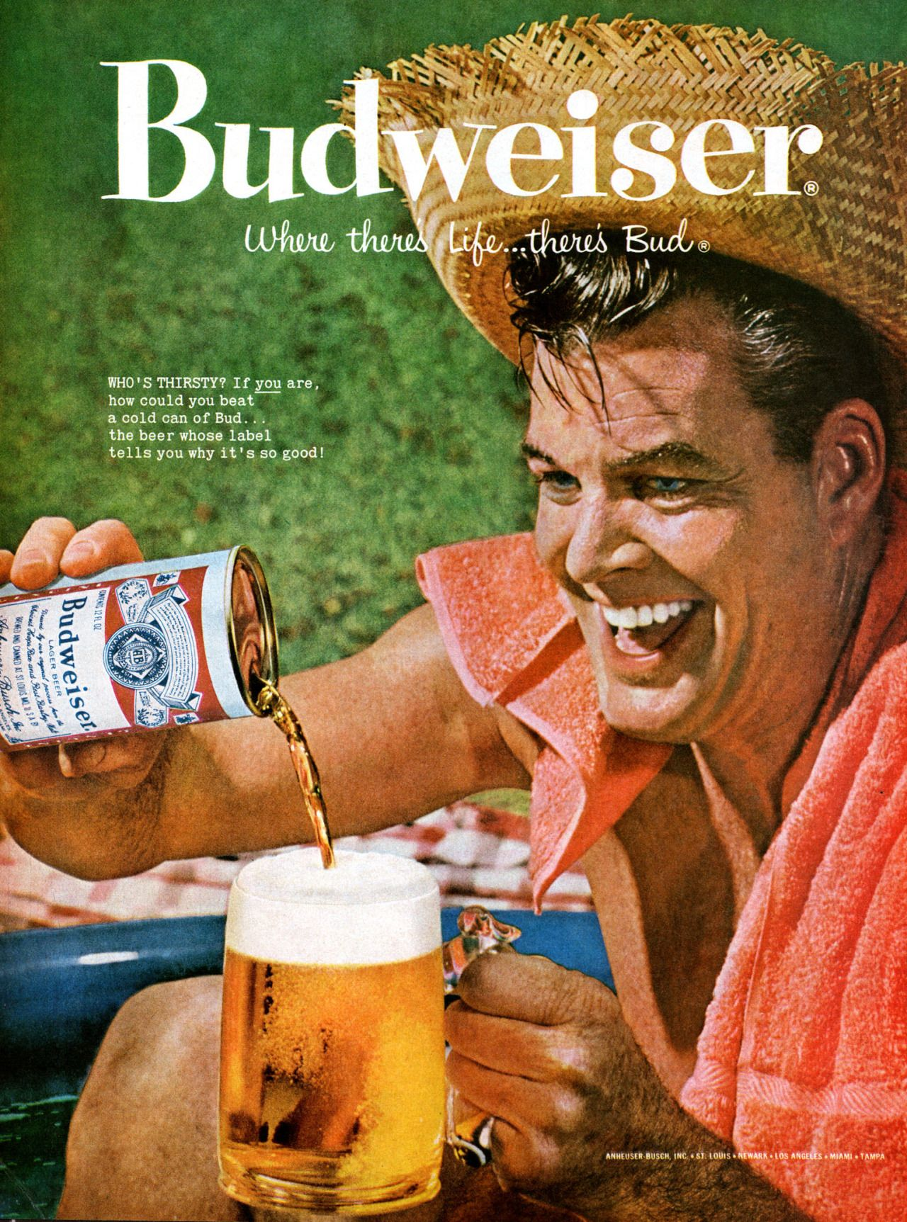 Anheuser Busch Vintage Posters