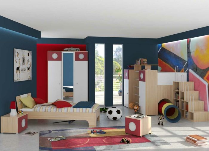 kinderzimmer junge kreative einrichtungsideen als fantasieanregung kinderzimmer junge. Black Bedroom Furniture Sets. Home Design Ideas