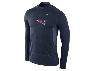 Nike Pro Combat Hyperwarm Fitted Shield Max (NFL Patriots) Men's Shirt