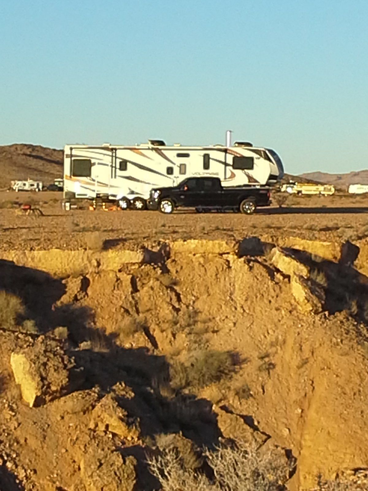 I want to be able to pay off our 5th wheel and afford to use it.