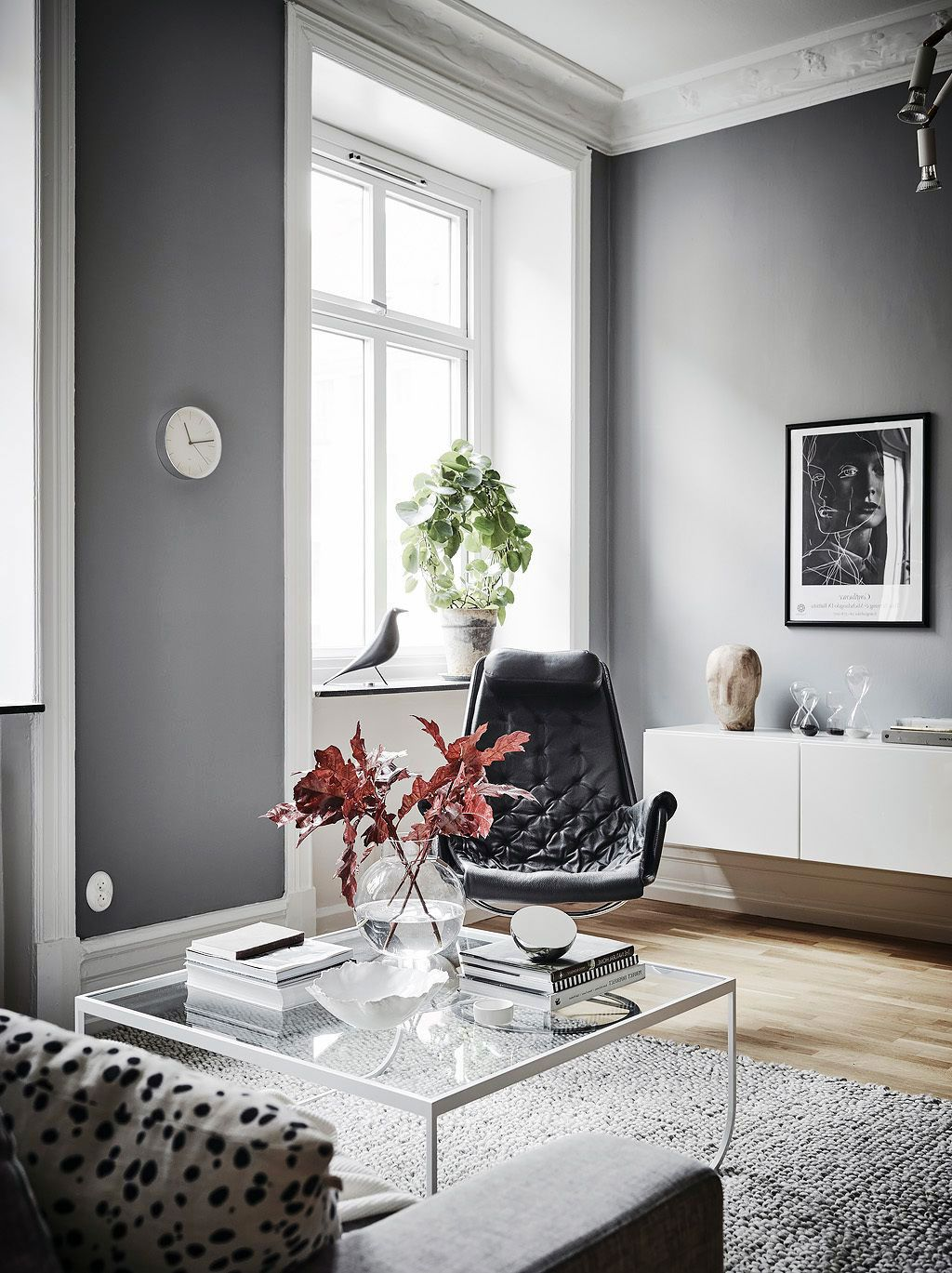 Living Room Scandinavian Interior