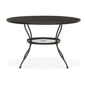 Round Metal Mesh Outdoor Table Lowes Split Level House