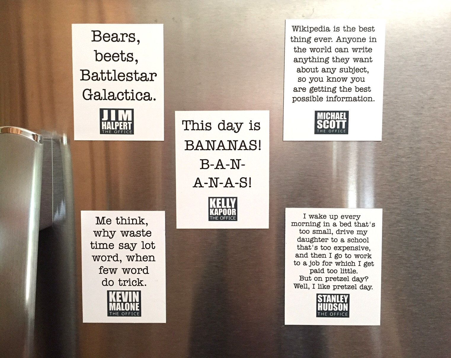Excited To Share The Latest Addition To My Etsy Shop The Office Magnets The Office Gift Funny Quote Best Office Quotes Office Quotes Office Quotes Michael