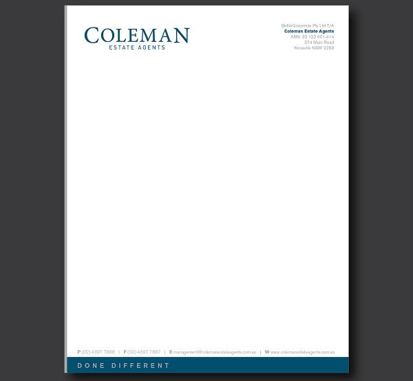Company Letterhead Designs Free Sample Example Format Download