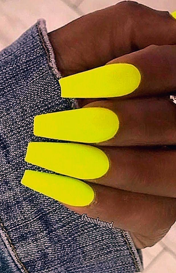 Photo of 44 Best Coffin Nail & Gel Nail Designs For Summer 2019 – Page 15 of 43 – belikeanactress. com