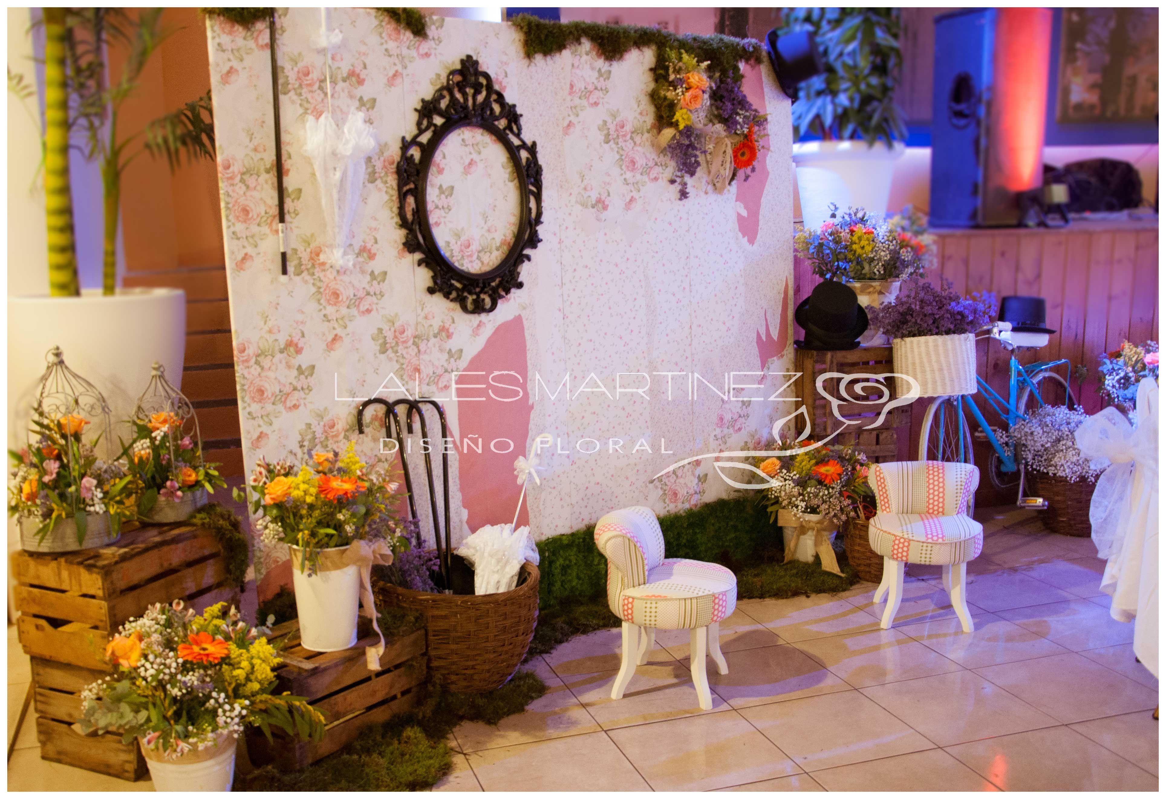 Photocall vintage decoraciones de bodas de lales - Decoraciones bodas vintage ...