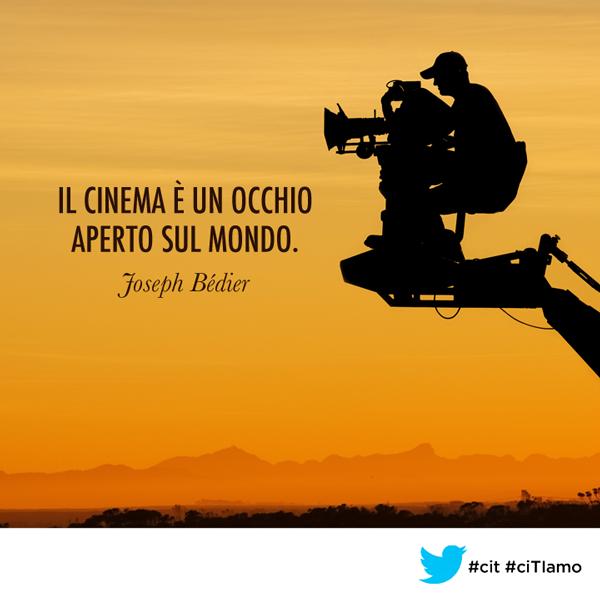 Il Cinema è Un Occhio Aperto Sul Mondo Joseph Bédier