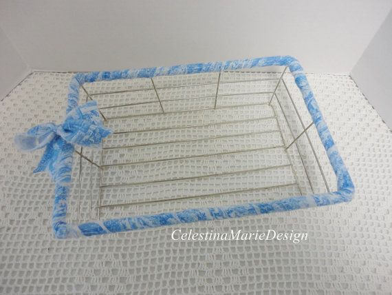 Rectangular Metal Wire Fabric Wrapped by CelestinaMarieDesign, $23.50