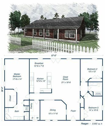 10 Great Ideas For Modern Barndominium Plans Tags Barndominium Floor Plans 30x50 Barndominium Floor Metal House Plans Barn House Plans Pole Barn House Plans