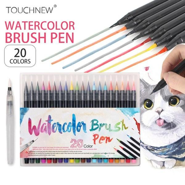 Watercolor Brush Pen Set Watercolor Brush Pen Brush Pen