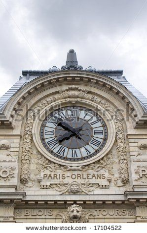 tower-clock-paris-museum-d-orsay-