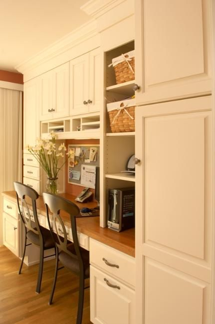 Built In Desk Storage Kitchen Wall Units Home Kitchens Built