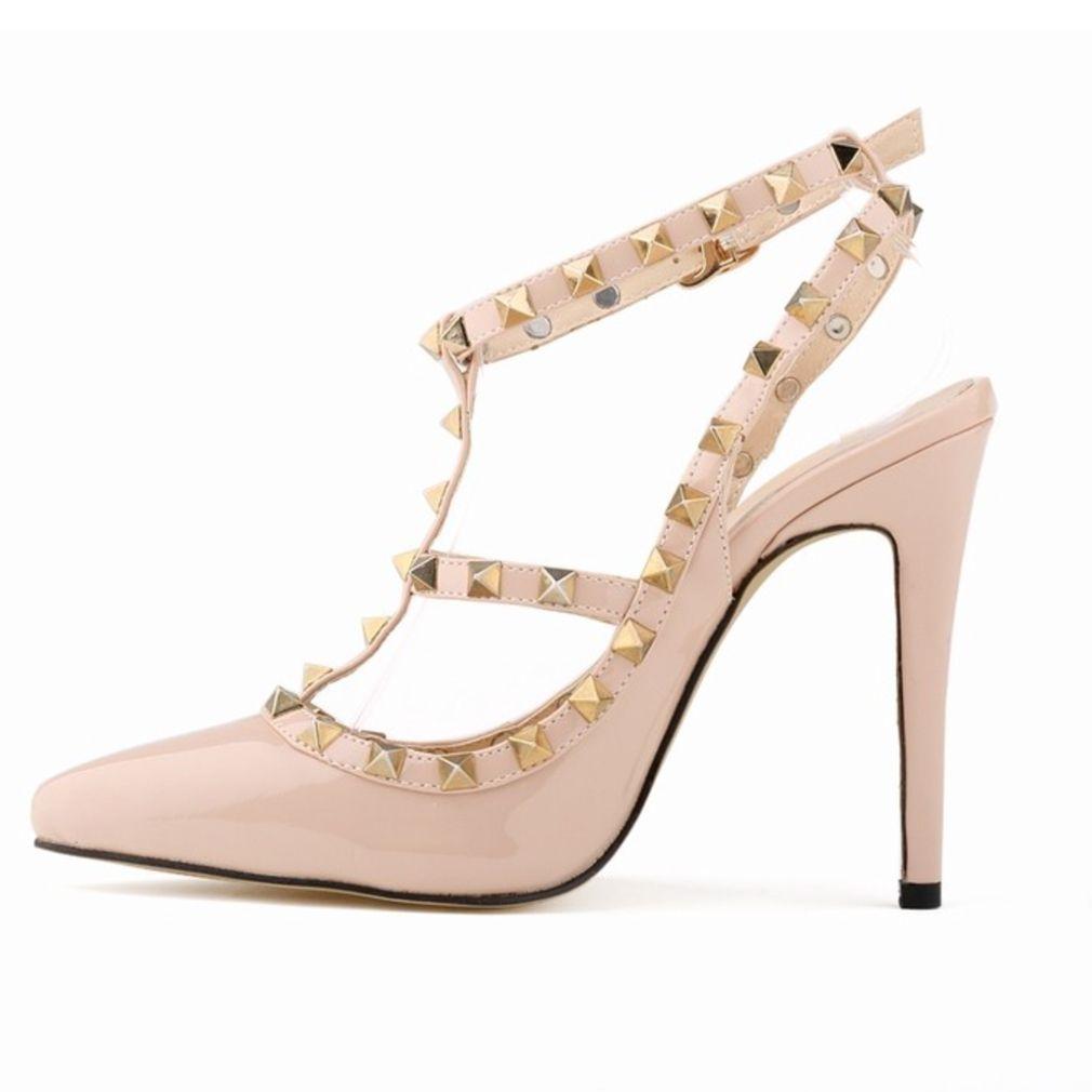 TDA Womens Peep Toe Colorful Rhinestones Wedding Party Dress Stiletto Shoes  05BO7XOAU