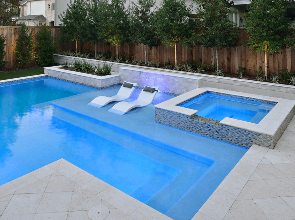 Stunning Backyard Pool Landscaping Ideas 06 Sweetyhomee Backyard Pool Landscaping Swimming Pool Designs Swimming Pool Landscaping