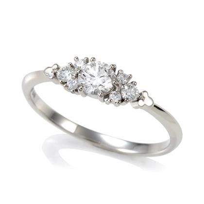 Geogous TTstyle Engagement Wedding Ring Clear CZ NEW Arrival Size 6-7