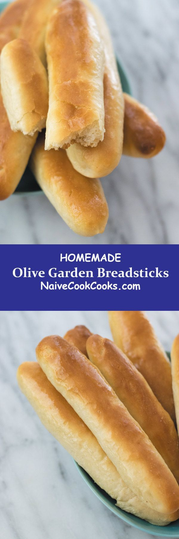 Homemade Olive Garden Breadsticks Naive Cook Cooks Recipe Homemade Bread Food Recipes