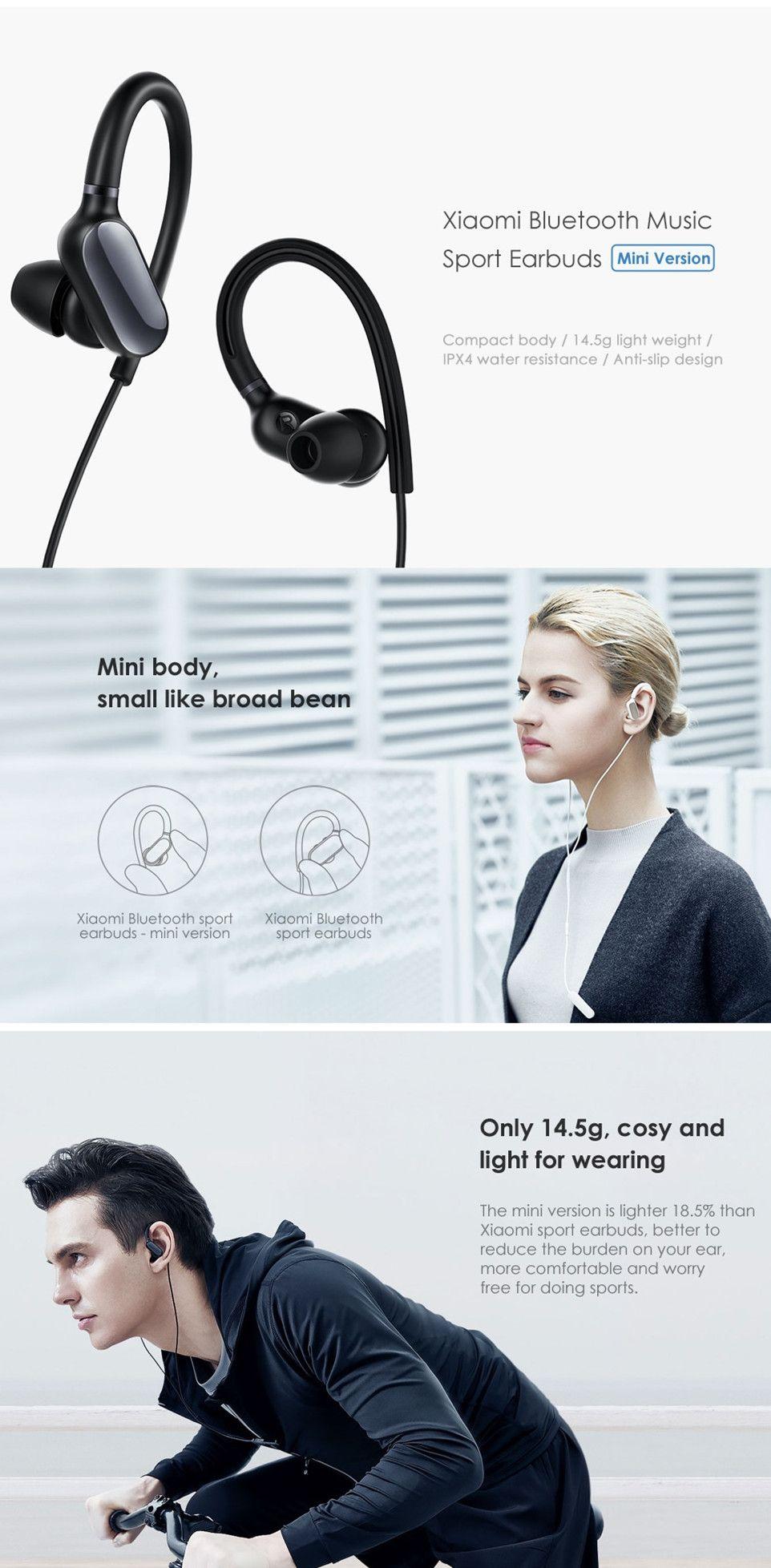 2a72ac56698 Original Xiaomi Bluetooth Music Sport Earbuds - Mini Version | High ...