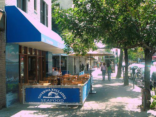 Taverna Kyclades Queens Ny Restaurant Address 3307 Ditmars