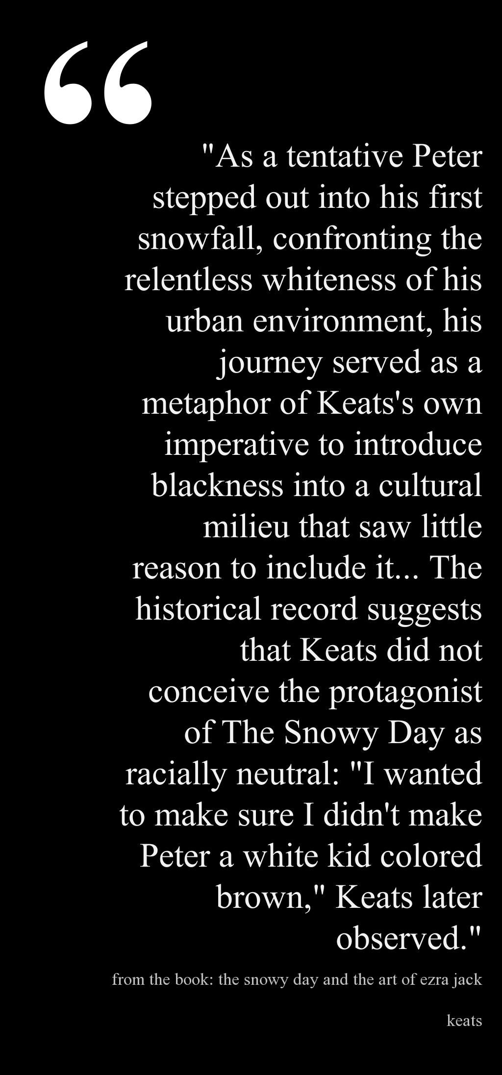 From The Book The Snowy Day And The Art Of Ezra Jack