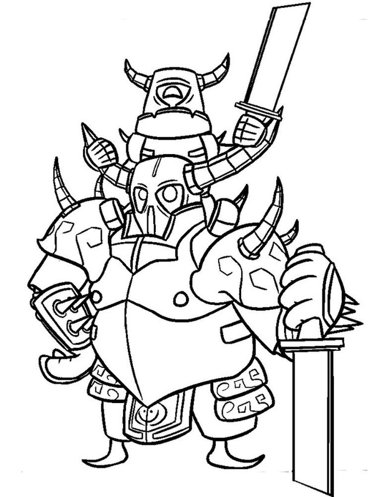 Clash Royale Coloring Pages Free Clash Royale Is A Tower Rush Based Video Game Where 2 4 Competing Players Coloring Pages Clash Royale Dragon Coloring Page
