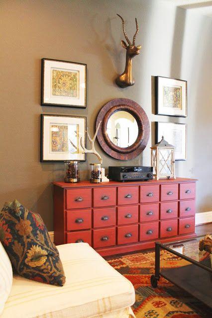 Reserve at old fredericksburg model part 2 furniture and - Ideas for dead space in living room ...
