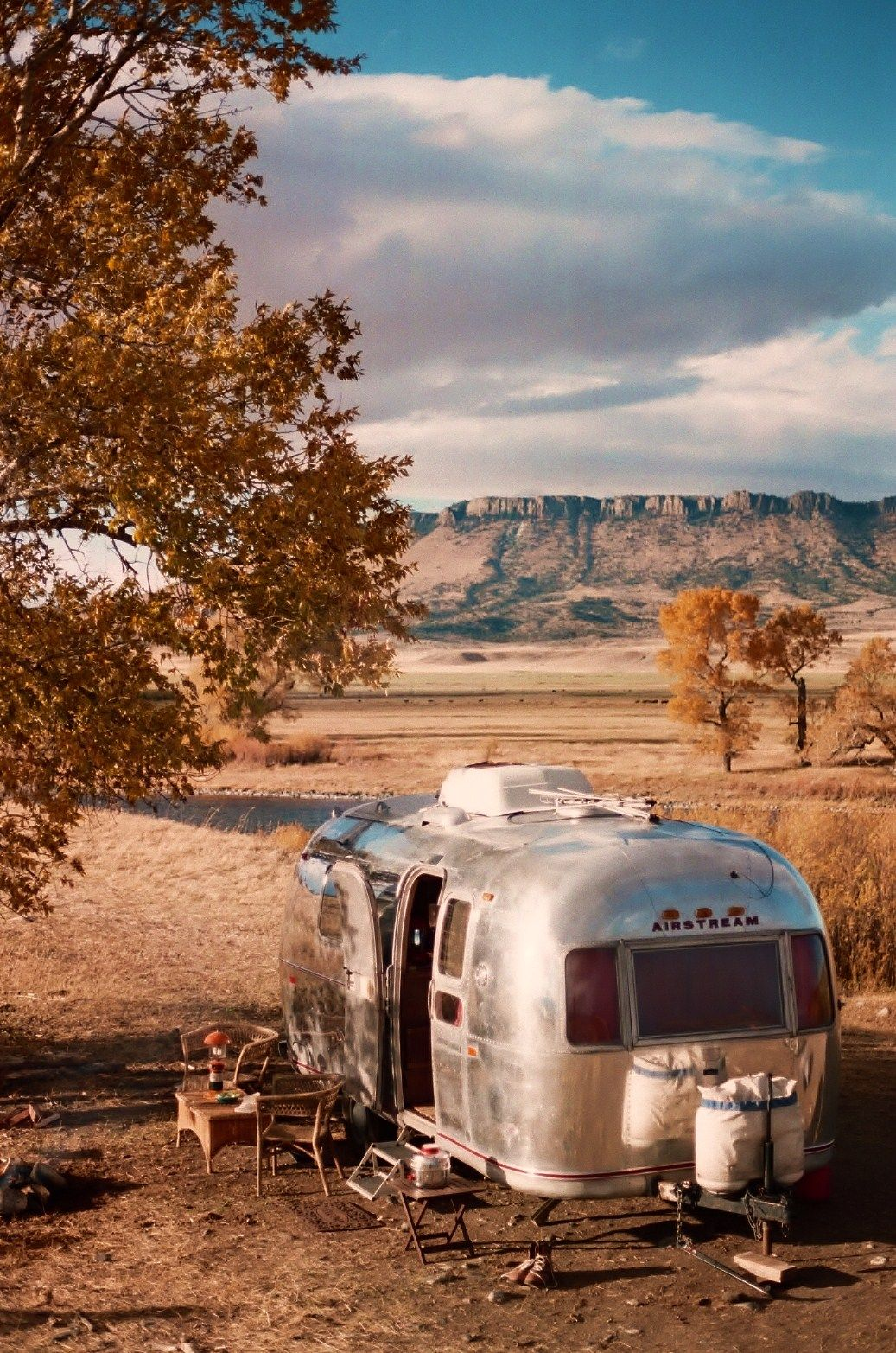 Airstream glamping rental and delivery starting summer