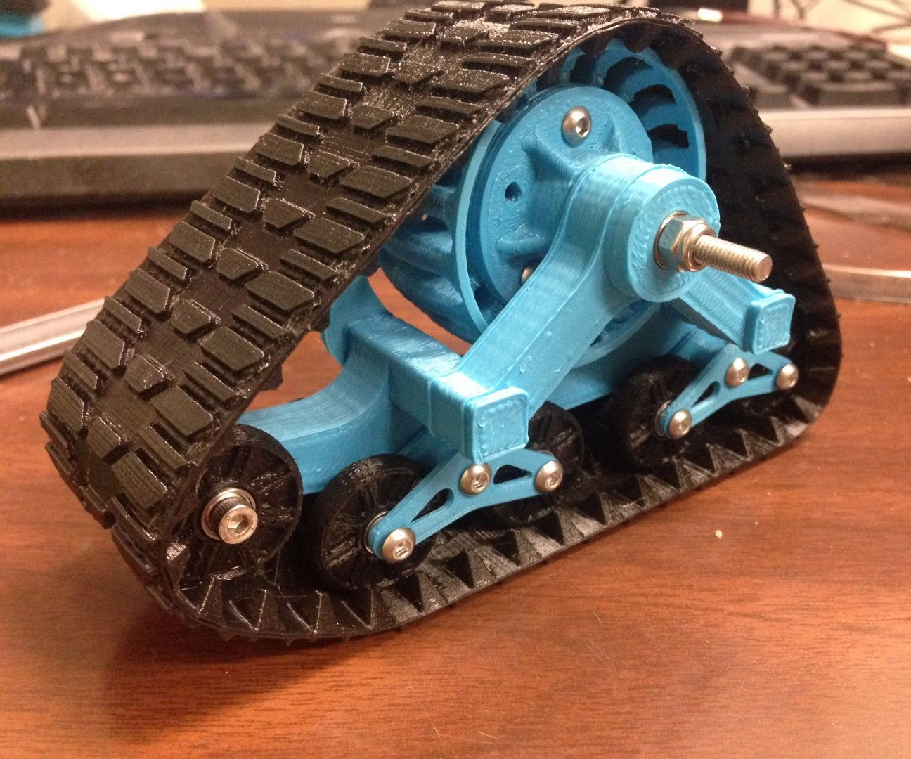 3D Printed MatTracks for RC Car in 1/10 Scale 3d