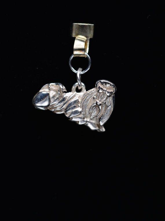 Sterling Silver Shih-Tzu charm/Pendant