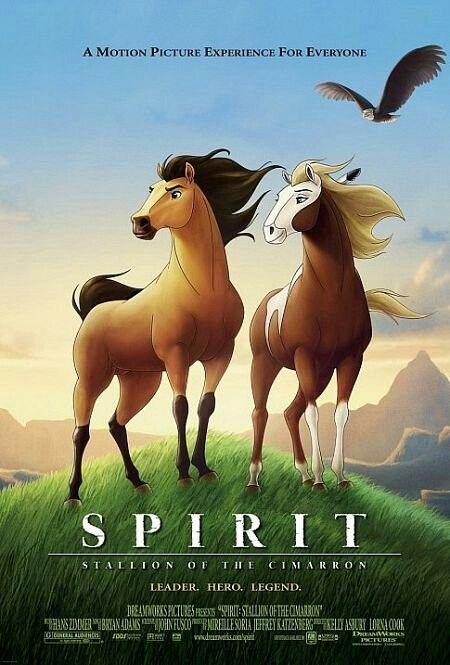 Spirit is a good inspirational movie