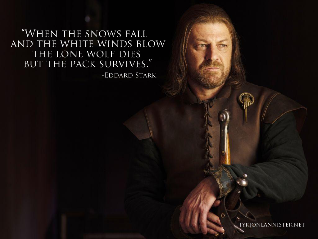 ned stark quotes game of thrones Google Search Ned