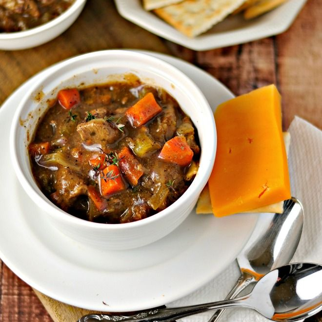 This recipe for Classic Beef Stew is delicious and easy to ...