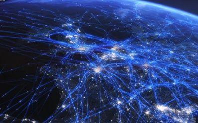 Pozri sa na detailnú vizualizáciu letov nad Európou počas všedného dňa.