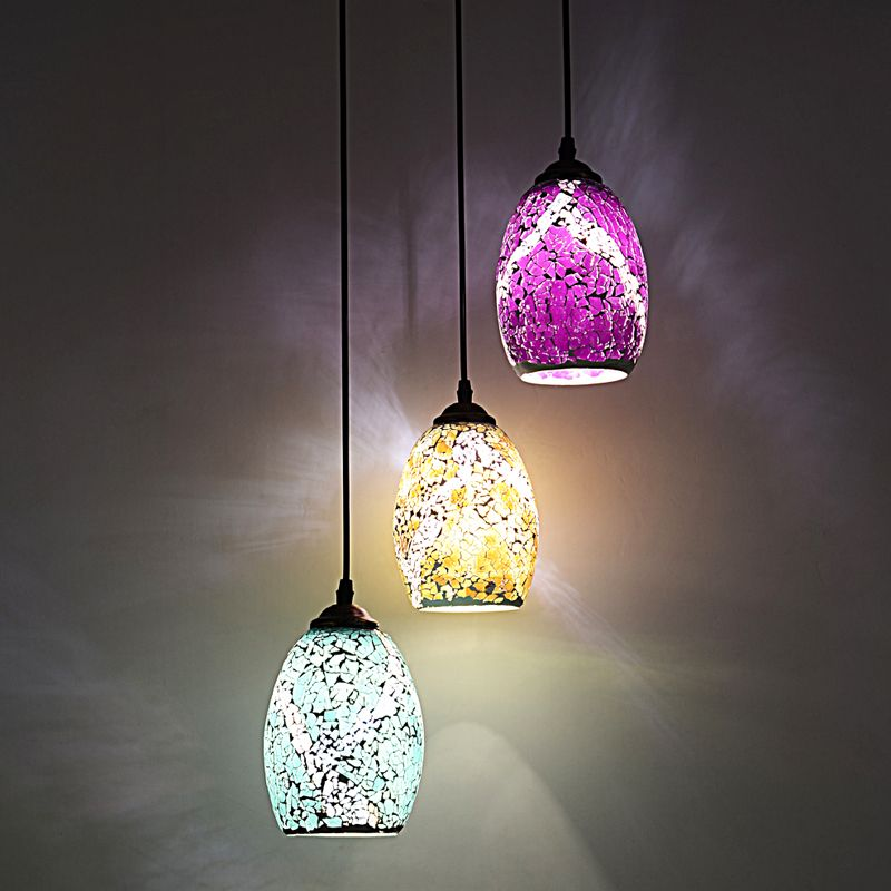 colored glass pendant lighting mini pendant tiffany glass pendant lights style country balcony bar mosaic light food drink color lighting lamps df138 affiliate