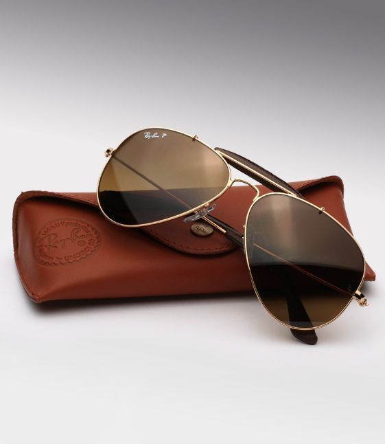 a8258cba0b Ray Ban RB3422-Q-001 M7 Frame  shiny gold Lens  brown gradient polarized   rayban  leather  aviators  hand  crafted