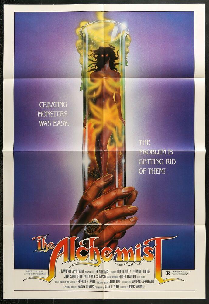 The Alchemist (1983) original movie poster horror