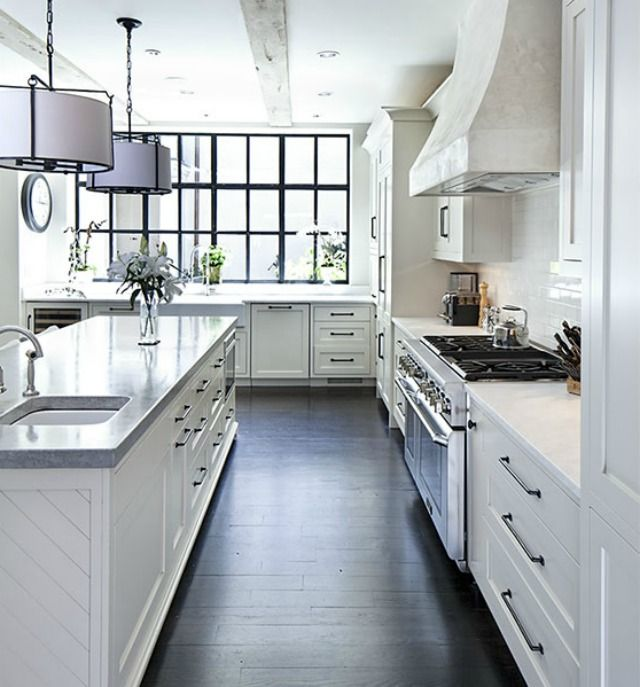 Clean And Bright: 10 White Kitchens We Love