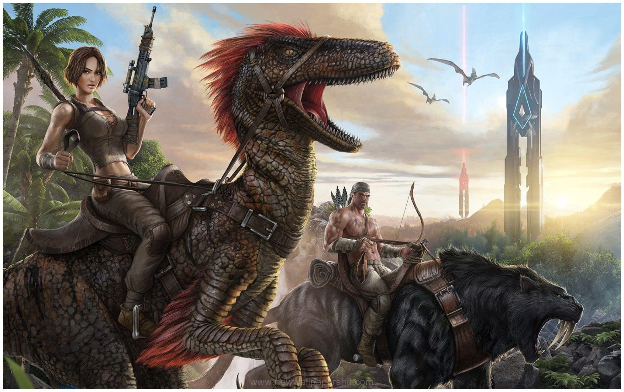Image For Ark Survival Evolved Gaming Hd Wallpaper Evolve Game