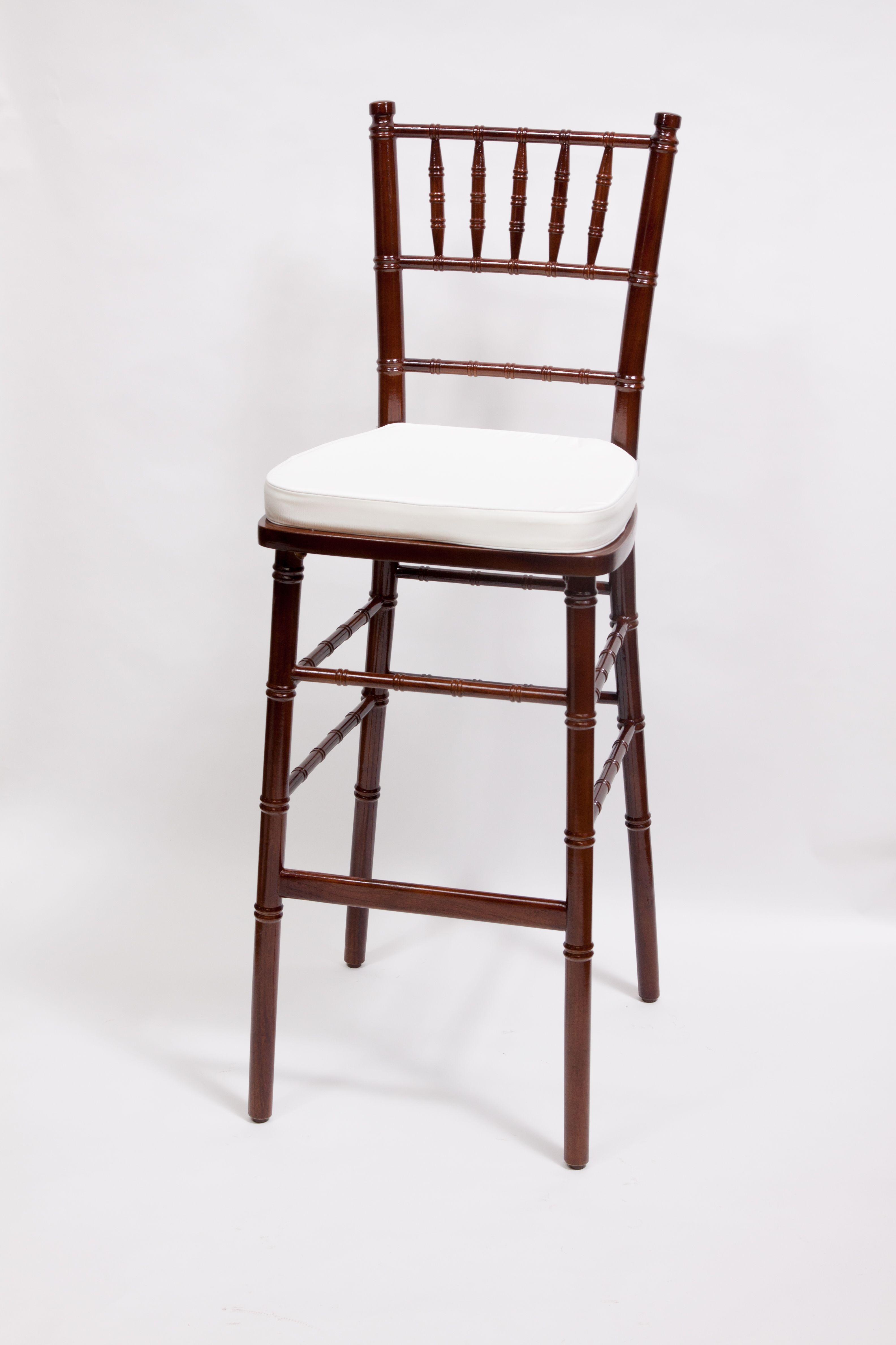 Mahogany Chiavari Barstool By Vision Furniture Bare Bones