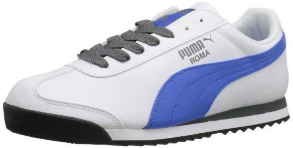 61c74827379e Amazon.com  PUMA Men s Roma Basic Leather Sneaker  Shoes