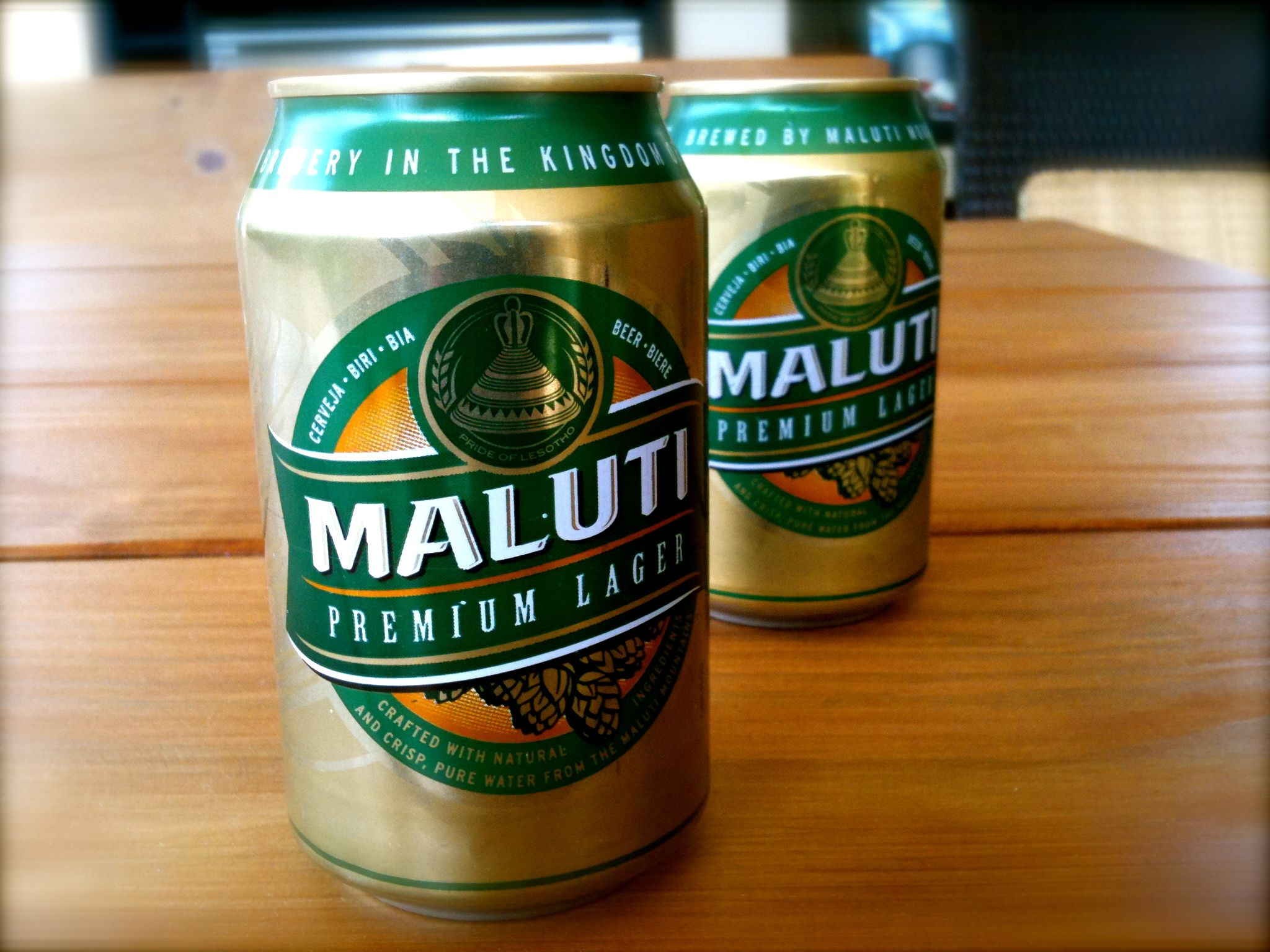 Maluti Beer From Lesotho Beer San Pellegrino Pure Products